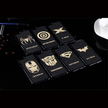 Black style superhero hard PC mobile cover for iphone 4/4s/5/5s for samsung s5 9300 9500 for xiaomi mi2/3 for remi note case