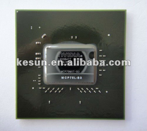 100% NEW nVIDIA Geforce BGA ic chip north bridge Chipset (MCP75L-B3)