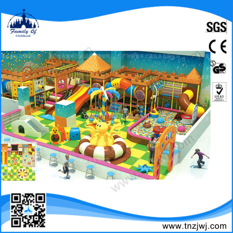 Latest designing naughty castle kids fun indoor soft play area playground