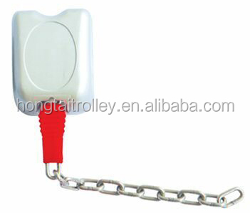 zinc alloy coin lock for supermarket shopping trolley