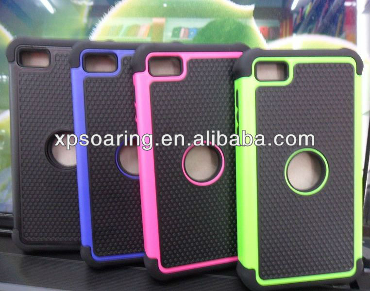 3 in 1 shockproof hard case back cover for Blackberry Z10