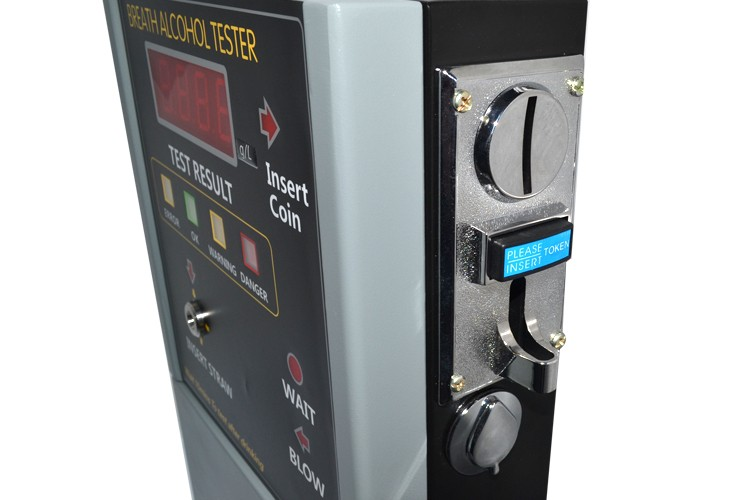 Fuel Cell Coin operated breathalyzer vending machine breathalyzer professional