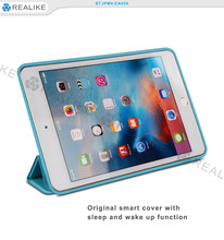 Wholesale mobile phone cover from china, folding stand case for ipad mini 4