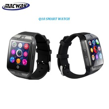 Q18 Bluetooth Smartwatch Phone Built-in Camera Android Smart Watch