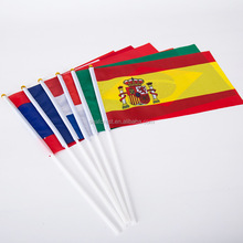 2016 Europe Football Cup All Country Hand Flags
