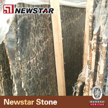 Newstar Portoro Extra Black And Gold Polished Mable Tiles & Slabs For Wall And Floor Design