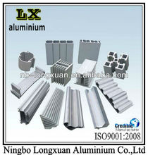 6063 cast alumnium extrusion profile,,extrusion aluminum profile parts