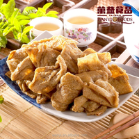 WanYi high quality health jerky snack pepper bean curd skin food