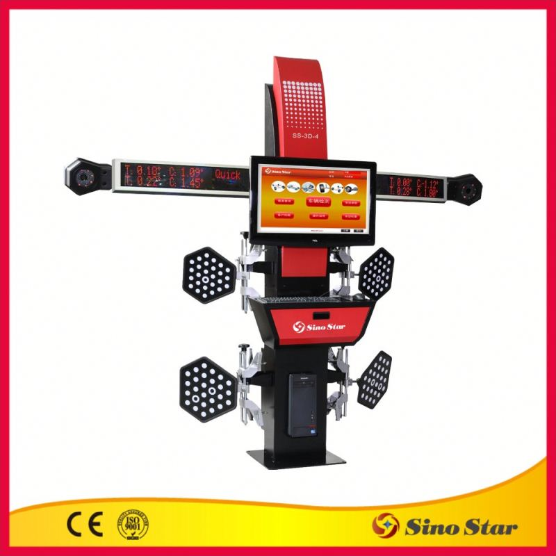 Small top quality wheel alignment machine price by ISO