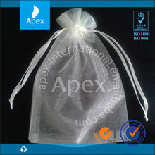 Best quality Drawstring gift Organza pouch for sale