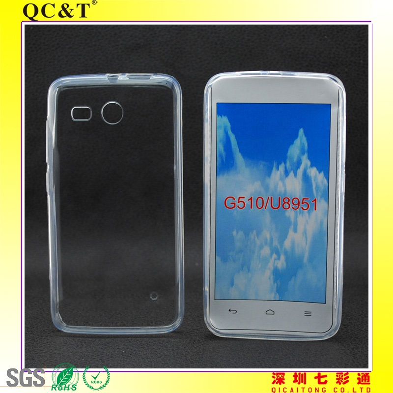 TPU+PC Frame CASE for Huawei G510