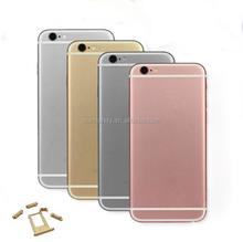 Replacement Rear Case For Iphone6S Housing Rear Door Battery Cover for Iphone 6S original complete Housing Back Cover
