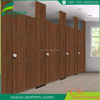 Commercial washroom modern compact public toilet cubicle
