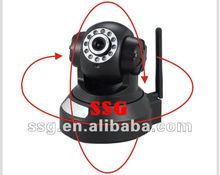 H.264 wireless mini IP camara wifi with IR night vision