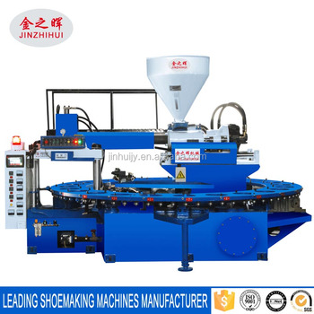 PVC one time molding slipper and sandal making machine