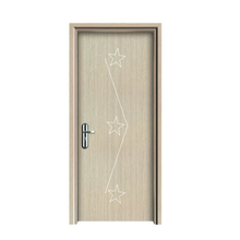 2018 new product wpc doors safety wooden door design