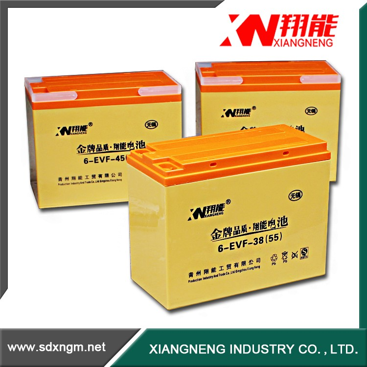 China battery manufacture Rechargeable Forklift battery pack