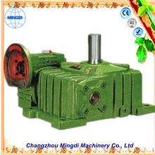 changzhou machinery WPO/WP Cast Iron small Worm Transmission Gearbox Parts with diesel engines for extrusoras de plastico