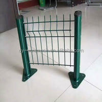 3.0-6.0mm PVC coated welded wire mesh fence