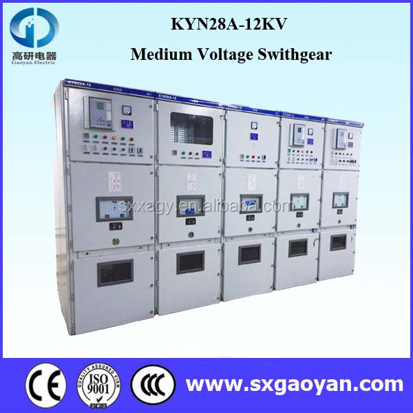 KYN28A-12 Medium Voltage Switchgear,Switchgear/Switch Cabinet/ Switchboard/ Electrical cubicle