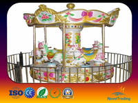Attactive 2016 New style indoor amusement park rides carousel horse