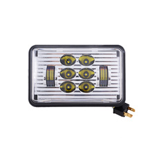 H4651 H4652 H4656 H4666 50w Rectangle car Light 4x6 Led headlamp High Low Beam H4 Replace Xenon Headlights bulbs