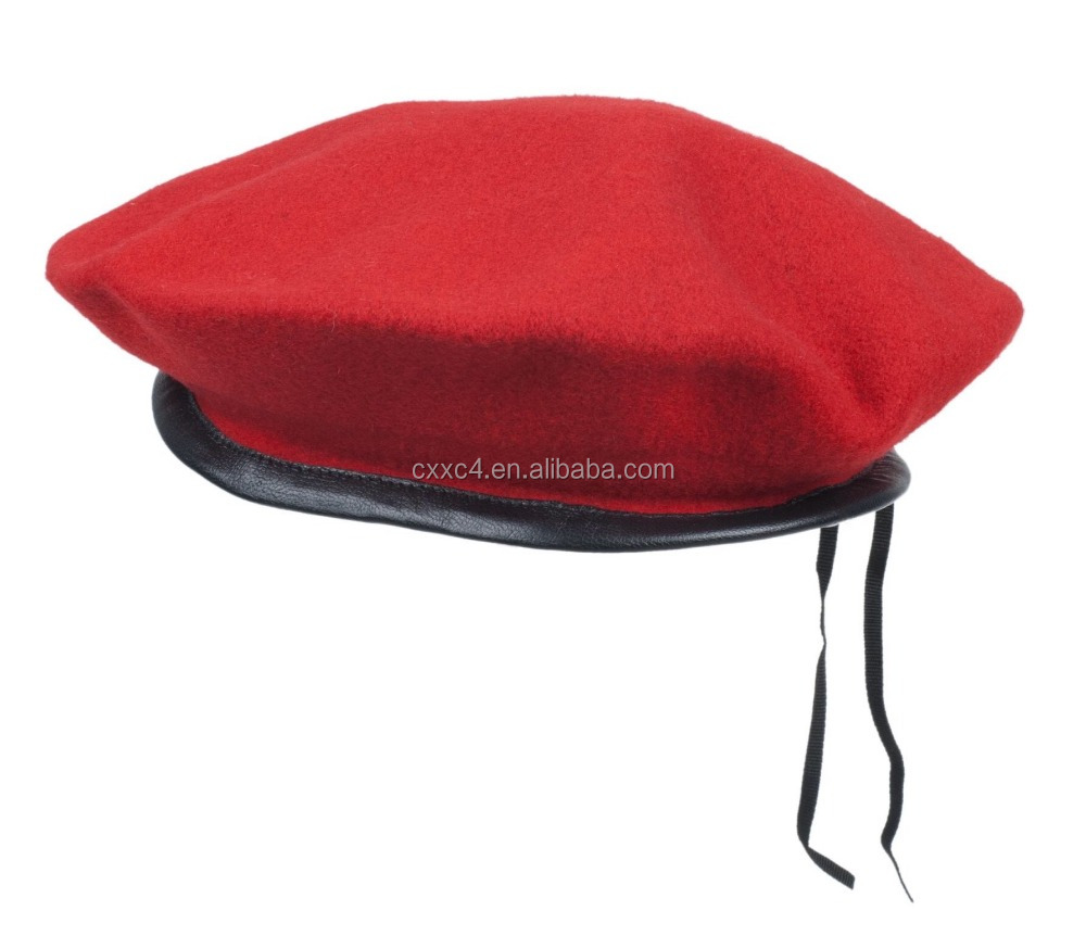 100% Wool Customized Ceremonial Military Beret
