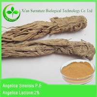 herbal Angelica P.E.Brown-yellow powder / chineseangelica root extract Ligustilide 1% HPLC