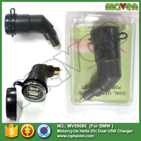 Maven Motorcycle DIN Socket Dual USB Charger for BMW Motorcycles Phone / GPS SatNav MV59085