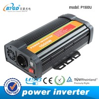 modified/pure sine wave home use solar power inverter 1500w
