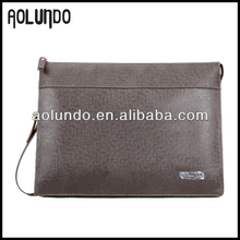 Genuine cowhide document portfolio Clutch bag for genuine leather men business clutch wallet
