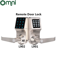 Best Quality 4 Unlock Ways Password/RFID Card/Key/Remote Smart Door Lock In China