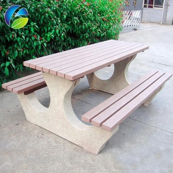 Stone Paint German Picnic Table Patio Dining Sets Plastic Chairs Tables