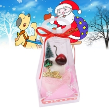 Sweet Cherry Christmas Tree Style 2013 New Towel Decorative Face Facial Handkerchief Christmas Gift