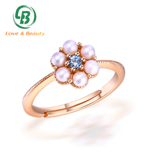 Guangzhou Love Jewelry Co.,Ltd Pearl Ring Mountings Fresh Water Pearl