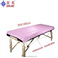 Perforated Disposable Non-Woven bed cover roll stretcher sheet