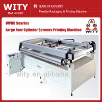 Large Size Four Cylinder Type Screen Printer