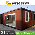 Cheap China Steel Frame Prefab Flat Pack Folding Container House