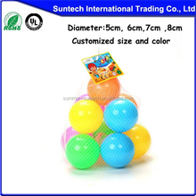 Plastic Soft Air-Filled Pit Balls for Ball Pits, Baby Playpen