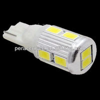 12V 5630 Car LED 9-SMD Sooter Motorcycle Light T10 W5W Signal Bulb