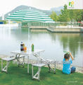 outdoor aluminum portable picnic folding table