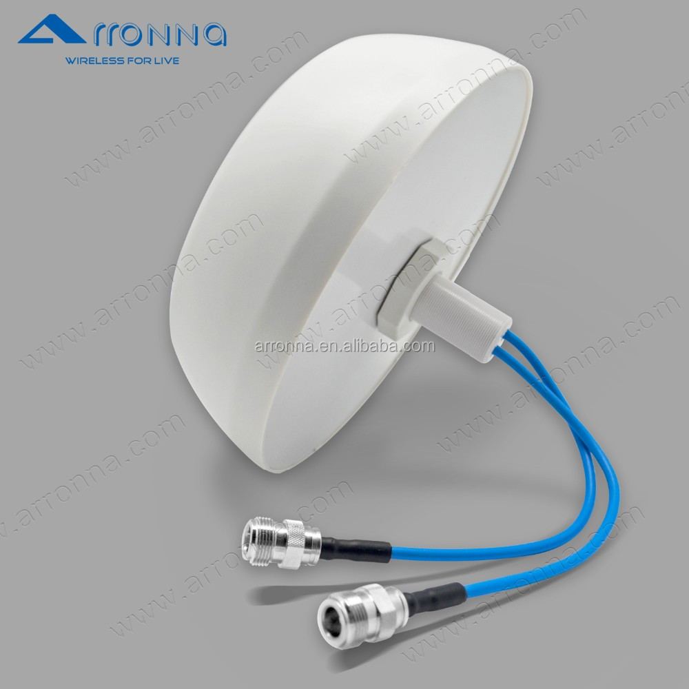 omni cycle 4G MIMO indoor wireless antenna ceiling antenna 698-2700MHz low PIM -150dbc