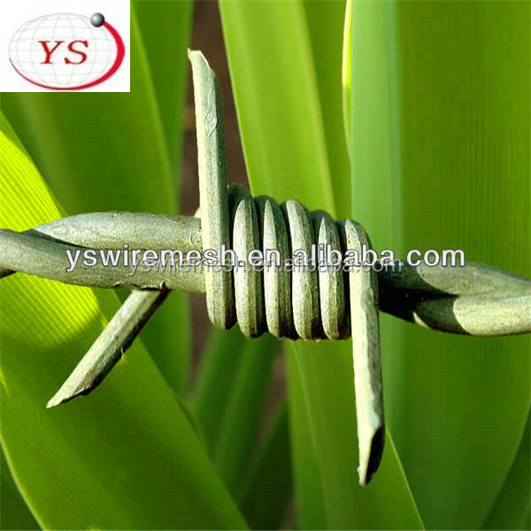electric galvanized barbed wire/galvanized barbed wire/pvc barbed wire fence (Manufacturer)