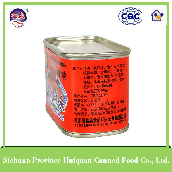 China wholesale ready made food canned