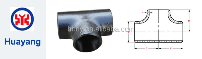 Carbon Steel Pipe Tee Price