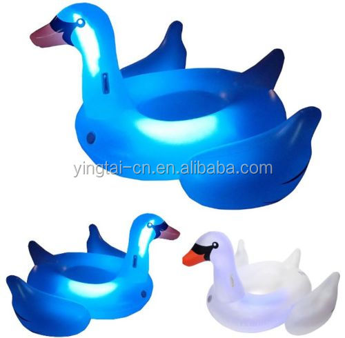giant inflatable led light swan pool float inflatable led pool floats