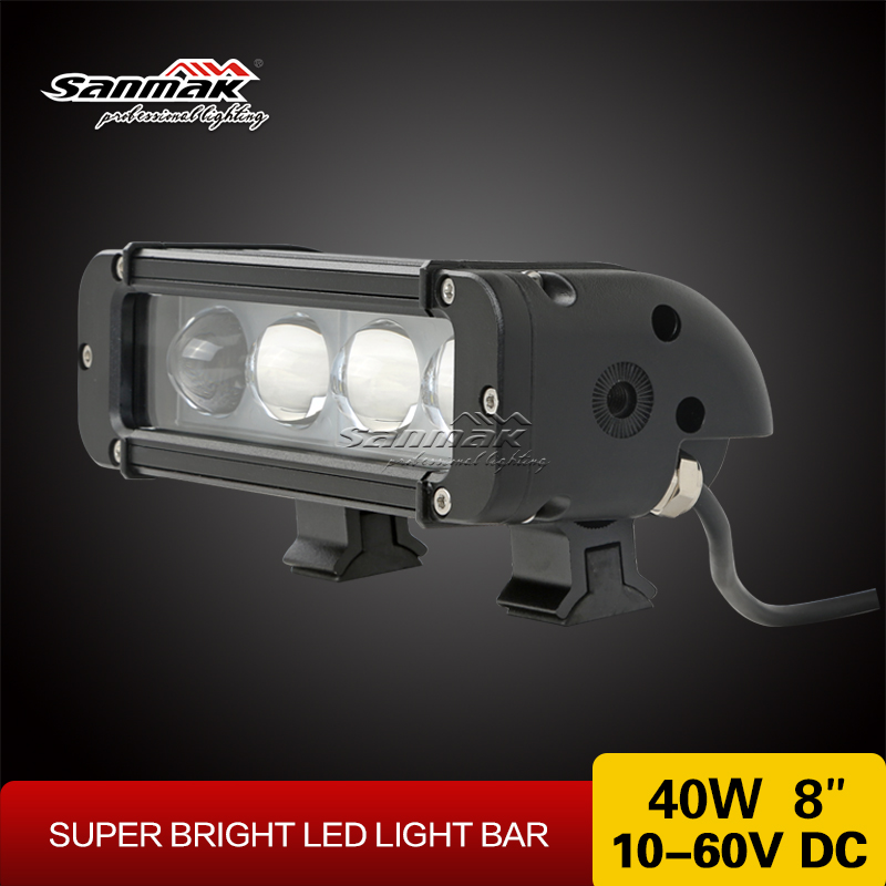 Sanmak Nice Quality wholesale CE RoHS IP67 SGS TUV off road light bar auto accessories