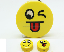 wireless emoji smile face speaker portable mini cute speaker for mobile phone table laptop made in china hot QQ emoji