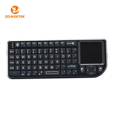 Portable Mini Ultra Slim Thin Bluetooth Wireless Keyboard with Touchpad for iPhone