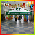 Customized economic activity tent
